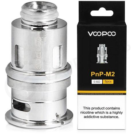 VooPoo PnP M2 Replacement Coil near me online vape shop PNP M2 0.6ohm 5pcs coils sub ohm coils thraot hit
