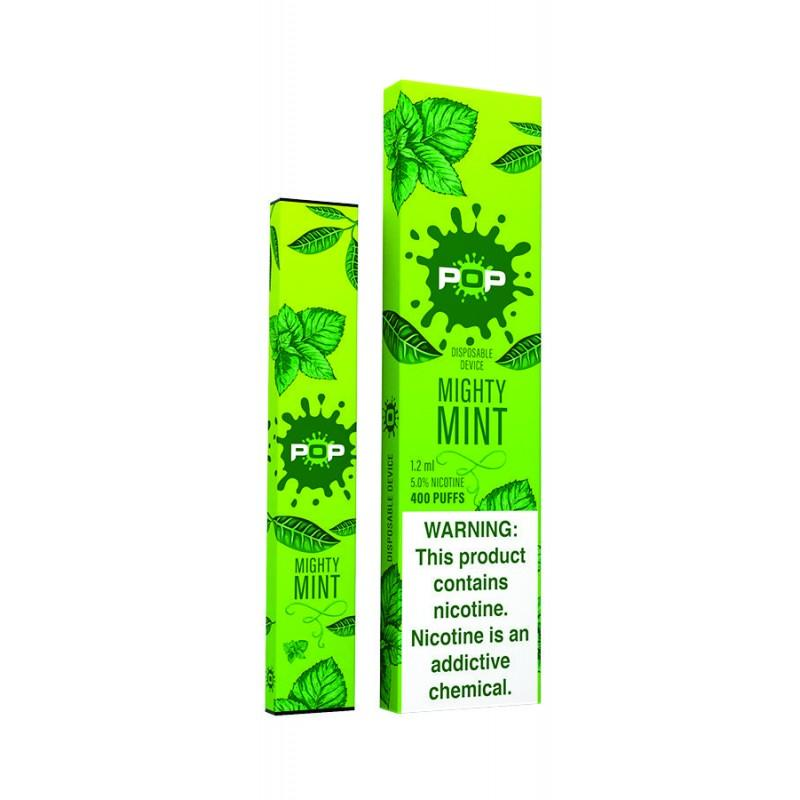 5% Disposable Vape Flavor Mighty Mint nicotine salt