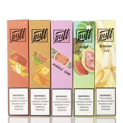 Puff Xtra new disposable vape kits precharged starter kit anti smoking vape devices ready to use vaping kit
