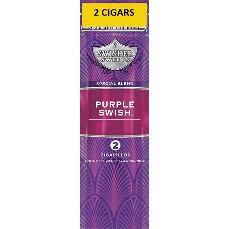 Purple Swish Swisher Sweets limited edition new flavor Cigarillos in best prices near me online tobacco vape shop