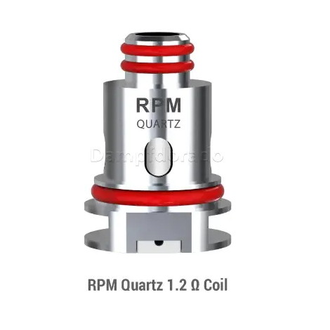Smok Nor 2 Quartz Coil 1.2 ohm coil for extra smoke and perfect vape experience non burning coils for all ejuices