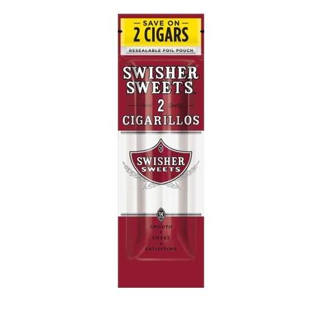 Swisher Sweets Original Regular flavor sweets edition new cigarillos near me online tobacco shop 2 per packet