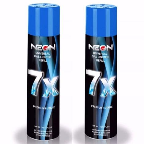 Neon Refil 7x power more capacity PPM lighter butane gas refiller now available online shop near me