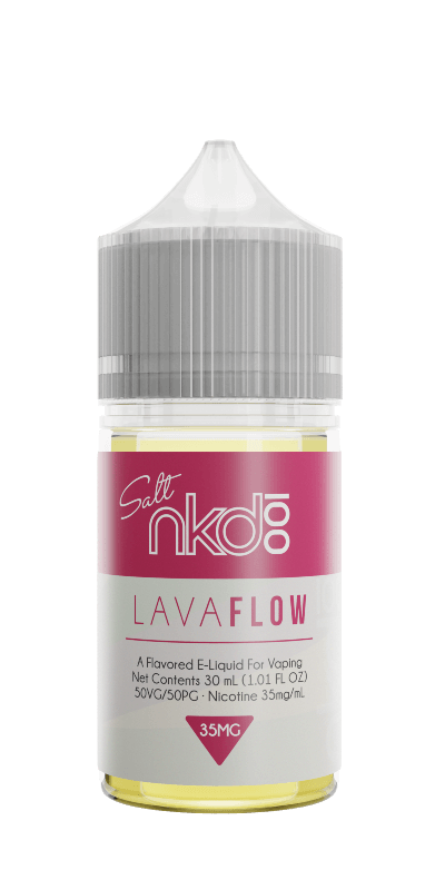 nkd 100 Lava flow vape juice for pods and atomizers with strong nic salt content in vape eliquid 30ml