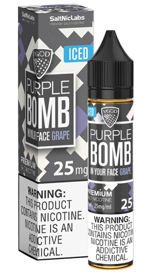 Nicsalt Iced Purpple Bomb 50mg