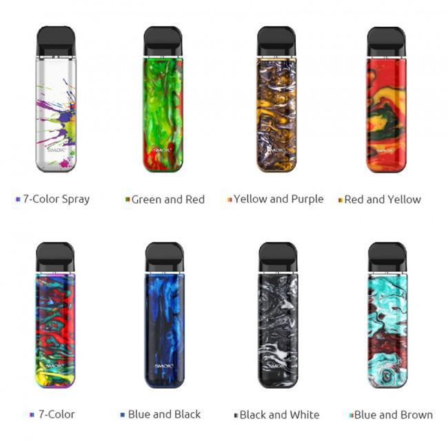 Smok New Pod system devices in mesh colored vape devices unique stylish vape designs near me online vape shop
