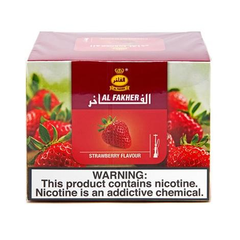 Strawberry flavor hooka tobacco by Al Fakher hookah tobacco near me in low prices best tobacco shop