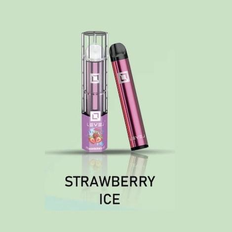 Strawberry Ice New Disposable Vape Devices by Level Dipsoable High Quality one time use vapes
