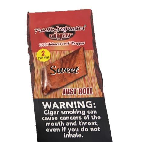 Fronto Leaf Master Blue Ice just roll tobacco leaf wrapper single pouch 2 leaf per packet near me online tobacco shop