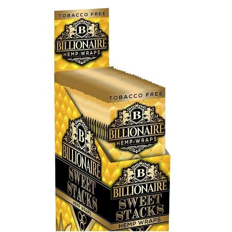 Billionaire Hemp Wraps Box Ballin Blueberry 15 pouches 30 leaf pack new flavor wraps for blunt rolling in best price