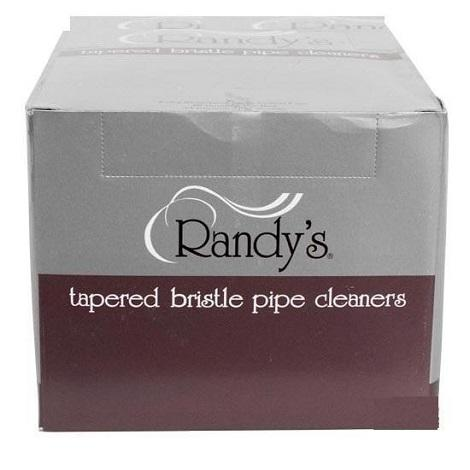 Randy's Tapered Bristle Pipe Cleaner Cotton Sticks for easy pipes and vape cleaning 6 inches cleaning bars