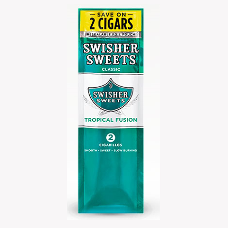 Swisher Sweets Tropical Fusion Limited Edition Mini Cigars Cigarillos fresh cigars near me online tobacco shop
