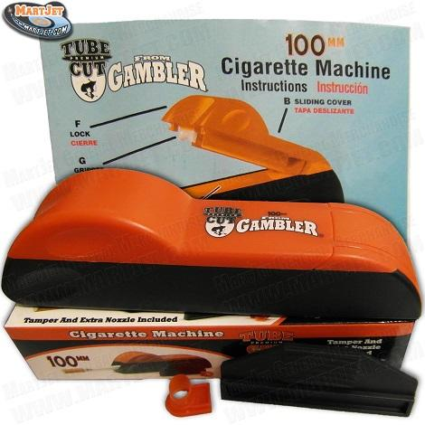 Gambler Tube Cut Cigarette Injector Hand Cigarette Machine 100mm Fastest Rolling Machine near me online shop