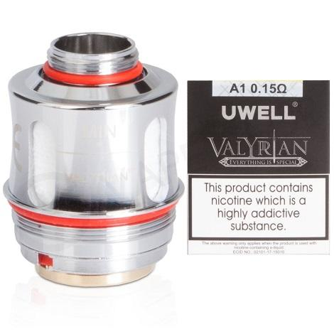 UWELL VALYRIAN 0,15 ohm REPLACEMENT COILS 2 pieces per pack near me online vape shop best sub ohm coils