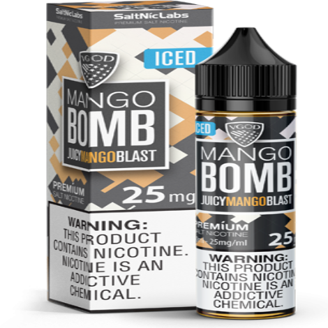 SaltNic Iced Bomb Mango 30ml 25mg