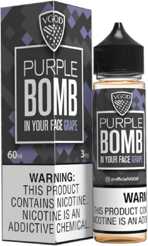 Bomb Line E Liquid 60ml by VGOD SaltNicLabs