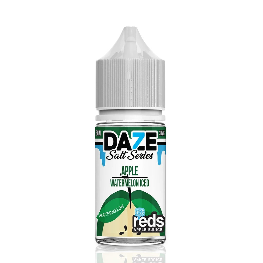 Watermelon Iced 30mg 50mg Refreshing Flavor by Apple Reds Daze Salts new Eliquids with strong nic salt near me