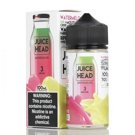 3mg Watermelon Lime Ejuice by Juice Heads for Perfect Vape delivery near me online vape shop mild nicotine hit blasting taste
