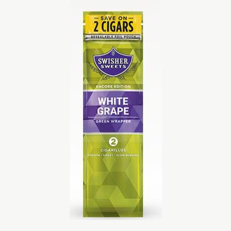 White Grape Swisher Sweets Cigarillos Mini Cigars near me online tobacco shop best prices cigar collection