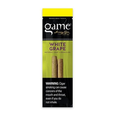 Game White Grape Cigars 2 per pack new high quality natural tobacco leaf cigarillos for rolling near me online shop