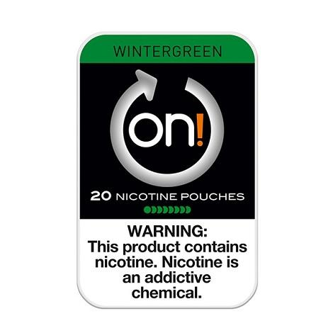 ON Nicotine Pouches 8mg 20 count Wintergreen Flavor Nicotine Patches Reviews Near me