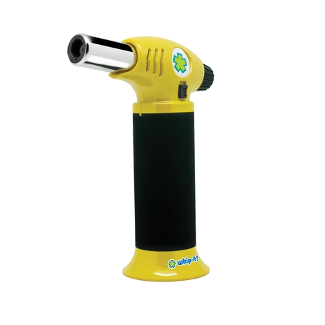 Yellow Black whip it lighting torch cooking blazer easy use butane torch near me