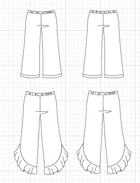 Lione Pants PDF sewing pattern - DGpatterns