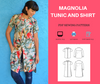 Magnolia Tunic and Shirt - DGpatterns