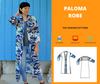 Paloma robe PDF sewing pattern