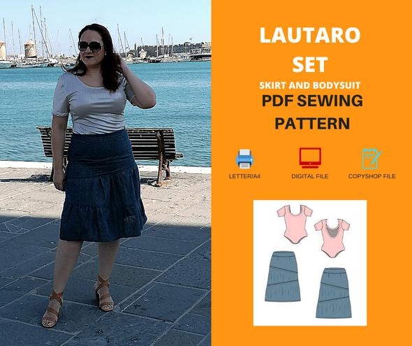 Lautaro Set For WOMEN PDF sewing pattern and sewing tutorial