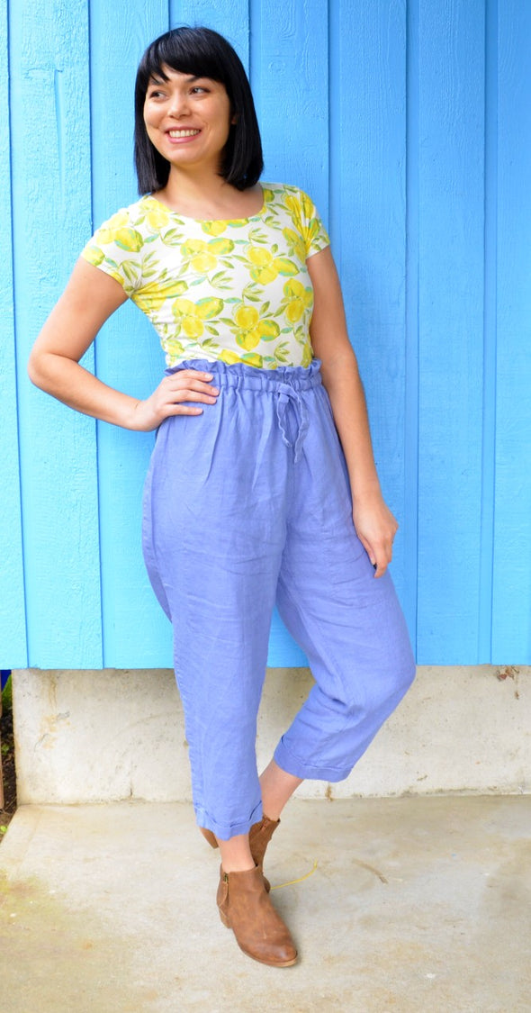 Leanne Woven Pants PDF sewing pattern