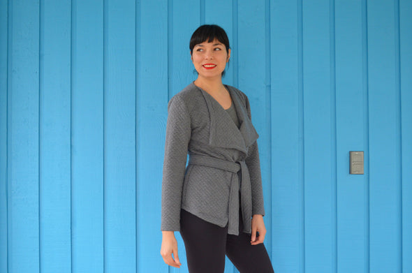 Wallis Blazer For Women PDF sewing pattern and sewing tutorial