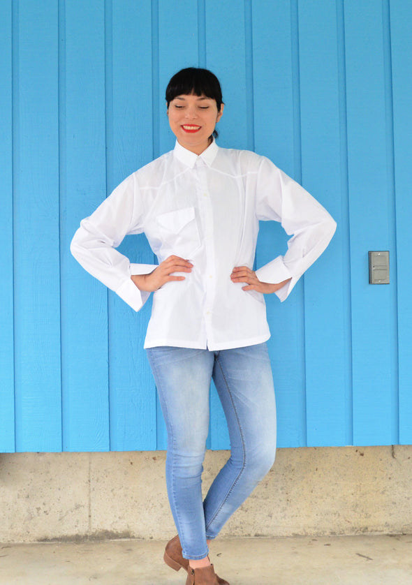 Frances Shirt PDF sewing pattern