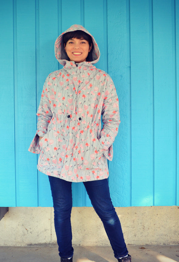 Maxwell Raincoat and Jacket PDF sewing pattern