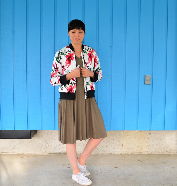 Inara Bomber Jacket PDF sewing pattern