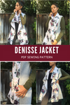 Denisse Jacket PDF sewing pattern