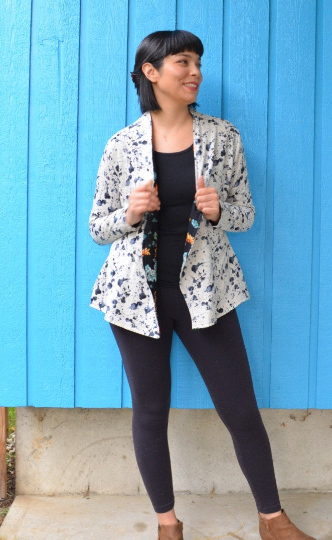 Palermo Jacket For WOMEN PDF sewing pattern and sewing tutorial