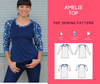 Amelie Top PDF sewing pattern