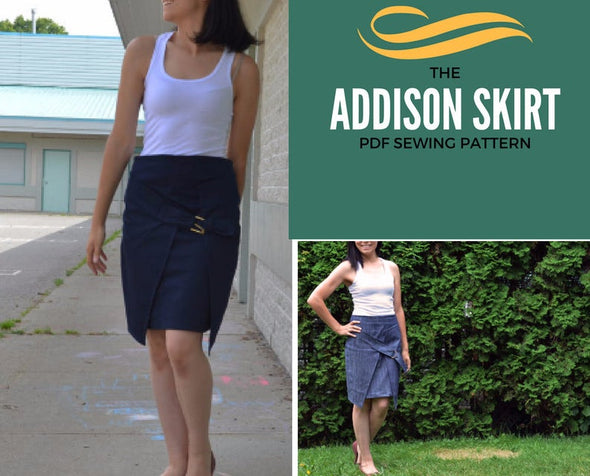 Addison Skirt PDF sewing pattern