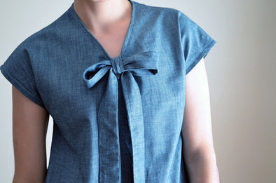 Necktie Top Pattern and Sewing Tutorial - DGpatterns