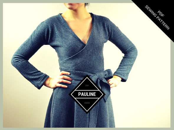 Pauline dress pattern and tutorial - DGpatterns