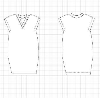 Ida Dress PDF printable sewing pattern and tutorial for women - DGpatterns