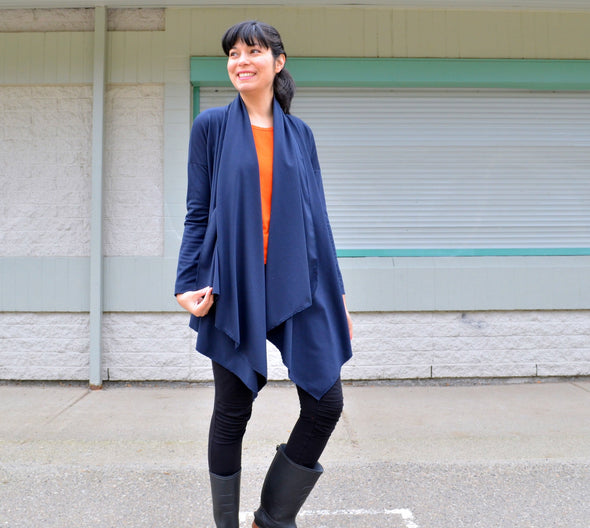The Grace Cardigan PDF sewing pattern - DGpatterns