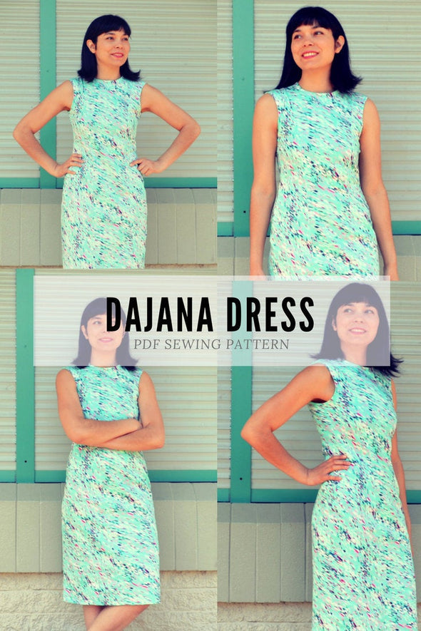 Dajana Dress PDF sewing pattern - DGpatterns