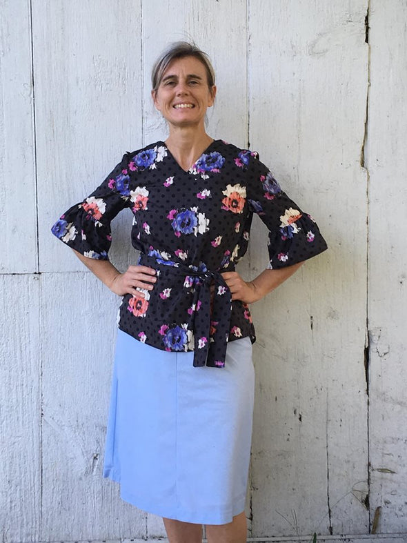 Patricia Top and Tunic PDF sewing pattern - DGpatterns