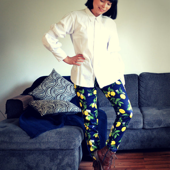 The Conny Pants PDF sewing pattern - DGpatterns