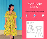 Mariana Dress PDF sewing pattern