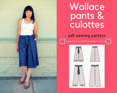 The Wallace Culottes - DGpatterns