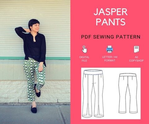 Jasper Pants PDF sewing pattern