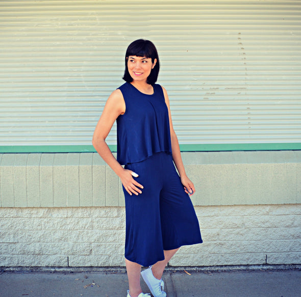 The Darlene Jumpsuit PDF sewing pattern - DGpatterns